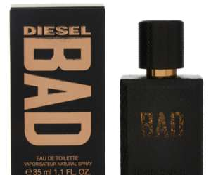 Diesel Bad 35ML EDT WOW! £16 (+£1.99 Delivery) @ TK Maxx