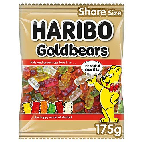 Haribo Gold Bears Sweets Bag, 175 g - 79p Amazon Prime (+£4.49 Non Prime)
