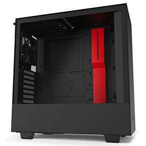 NZXT H510 Midi Tower Gaming Case - Black/Red Tempered Glass, £59.99 at Amazon