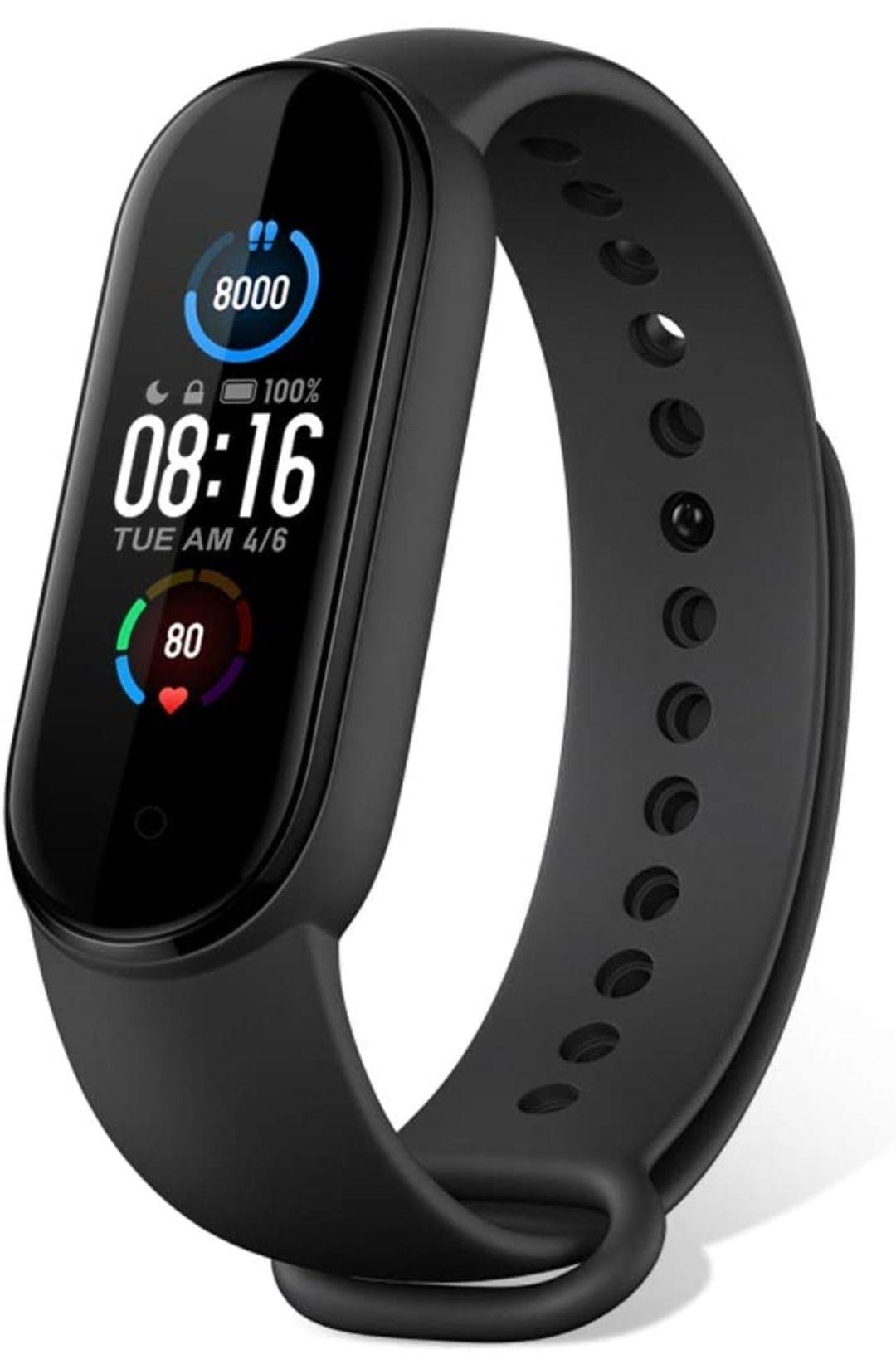 Xiaomi Mi Band 5 AMOLED Smart Fitness Watch - £19.91 (Nectar Members) / £21.16 (Non-Nectar) @ centu_2015 / eBay