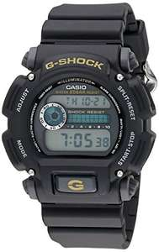 Casio Men's G-Shock Quartz Chronograph Black Resin, £43.70 (UK Mainland) sold by Amazon US at Amazon