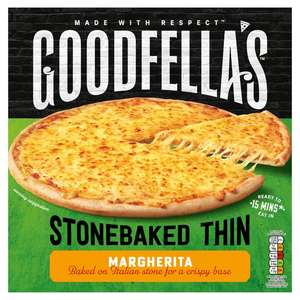 All Varieties of Goodfella's Stonebaked Thin Includes Pepperoni, Cheese, Chicken And Meat Feast £1.25 @ Asda
