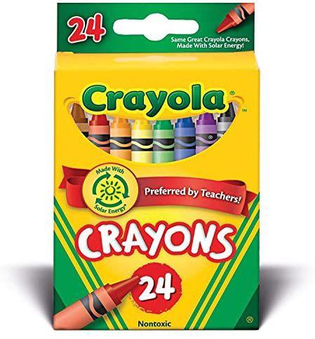 Crayola Wax Crayons 24pk £1.25 @ Asda