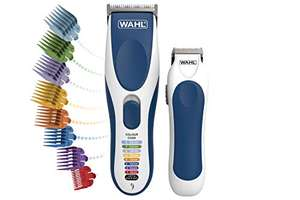 Wahl Hair Clippers for Men, Colour Pro Cordless Combi Kit Head Shaver Men's Hair Clippers with Beard Trimmer £29.99 @ Amazon