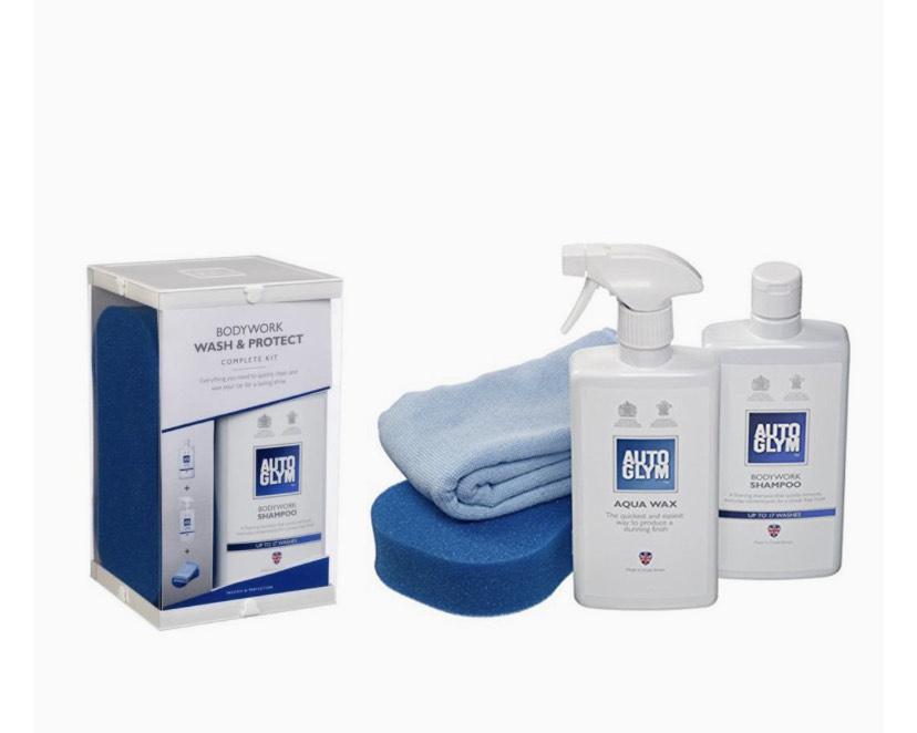 Autoglym Bodywork Wash & Protect Complete Kit for £13.53 Amazon Prime (+£4.49 Non Prime)