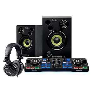 Hercules DJStarter Kit: The complete kit to start DJing with Serato DJ Lite £98 delivered at Amazon