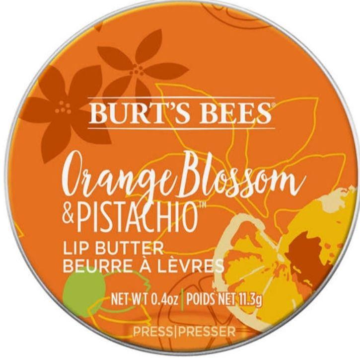 Burt's bees orange blossom and pistachio lip butter 30p instore at Superdrug, Llanelli