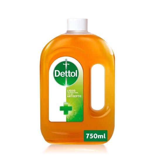 Dettol Antiseptic Disinfectant Liquid 750 Ml (Clubcard Price) - £3 @ Tesco
