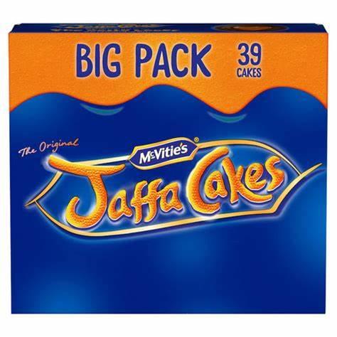 McVitie's The Original Jaffa Cakes 39 Pack £1.75 @ Asda