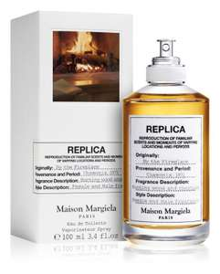 Maison Margiela REPLICA By the Fireplace EDT 100ML Eau de Toilette, Unisex - £66.72 delivered with code at Notino