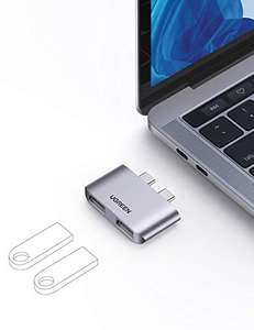 Ugreen USB C Hub Macbook Pro Adapter Type C to Dual USB 3.1 Ports - £5.84 Prime / £10.33 Non Prime Sold By Ugreen Group Limited UK / Amazon