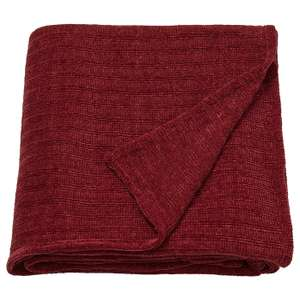 YLVALI Throw, brown-red - £3 instore @ IKEA