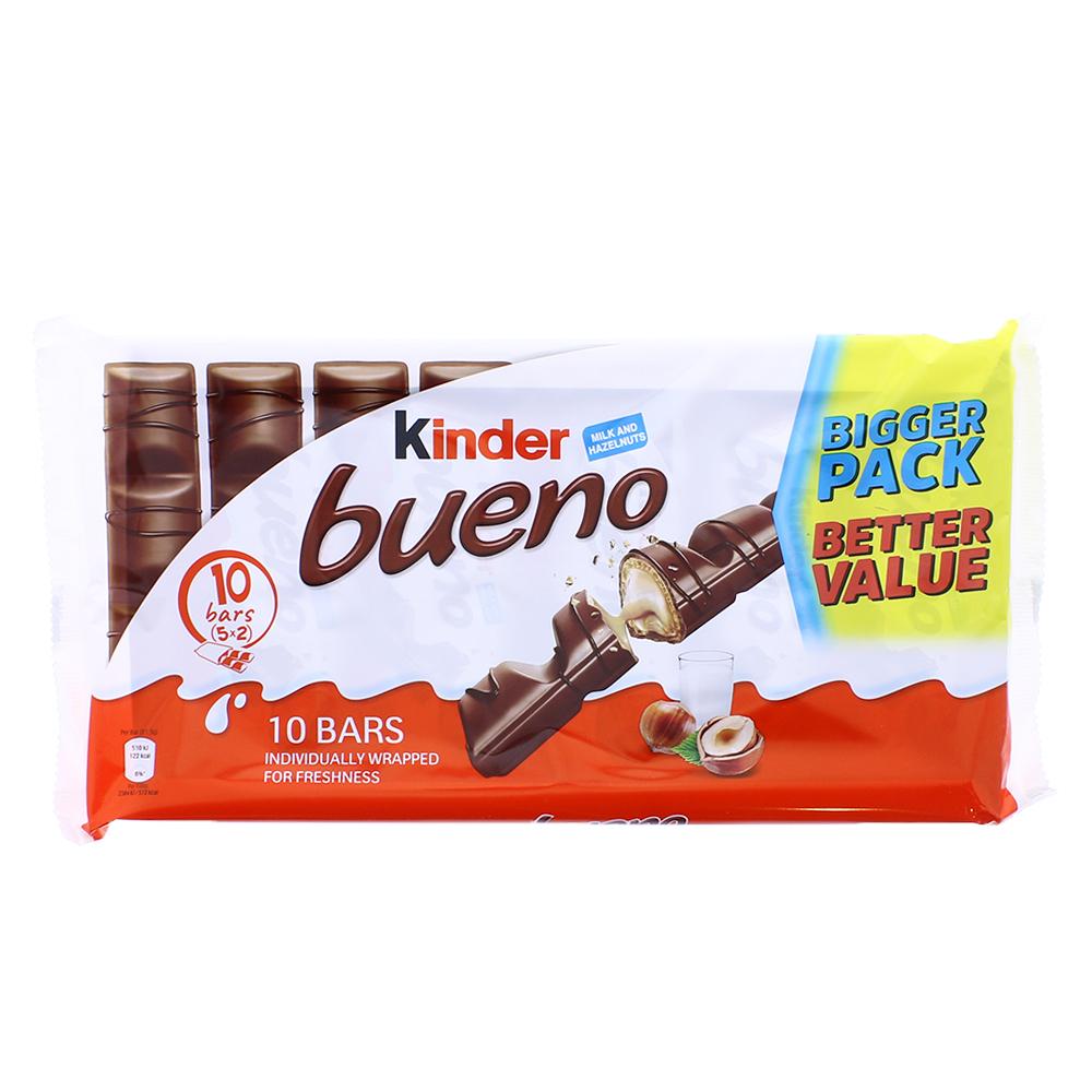 Ferrero 30 bars = 3 packs of Kinder Bueno (645g) - £5 instore @ Farmfoods, Renfrew (Glasgow)