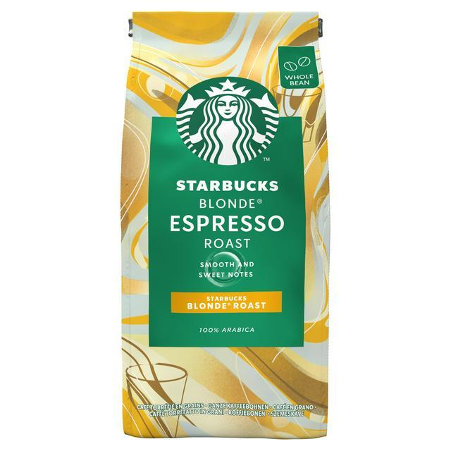 Starbucks Blonde Espresso Roast Whole Bean Coffee Bag 200g - £2.50 @ Asda