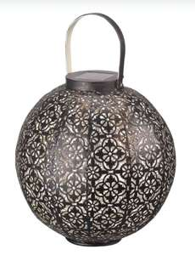 Smart Solar Damasque Lantern - £14.99 (+£4.95 Delivery) @ Robert Dyas