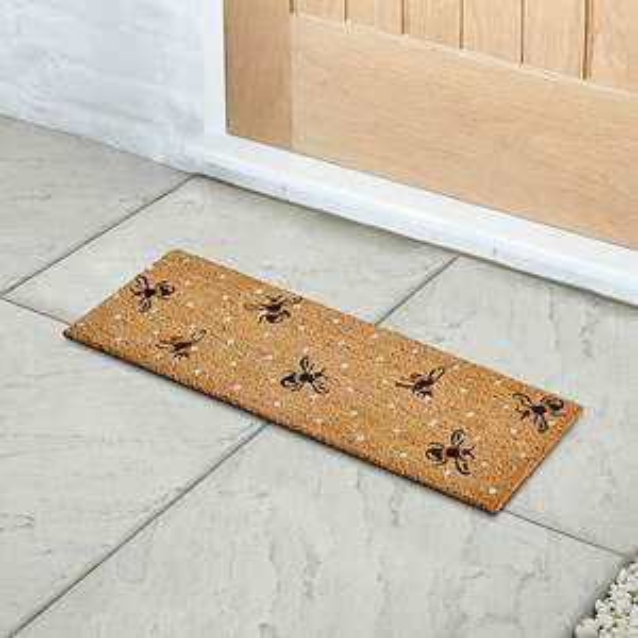 Dunelm - Half Step Doormat - Cat Face / Smile / Ducks / Bees - £3 - Free Click & Collect @ Dunelm