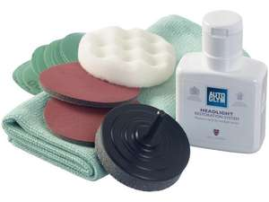 Autoglym Headlight Restoration Complete Kit £17.59 (Free click & collect / £3.99 delivery / Limited Stock) @ Halfords