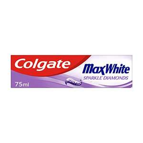 Colgate Max White Sparkle Diamonds Toothpaste 75 ml, £1 (+£4.49 Non-Prime / 90p S&S ) @ Amazon