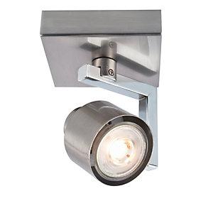 Spotlight Clearance @ Wickes - e.g Wickes Boulevard LED Brushed Chrome Single Spotlight £5 / Wickes Studio 2L Bar Spotlight £7.50 & More