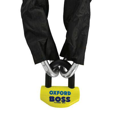Oxford OF809 Bigboss Motorbike Security Chain Lock 12mm Diameter 2M Long Sold Secure Gold £63.59 @ qualitypartshouse eBay