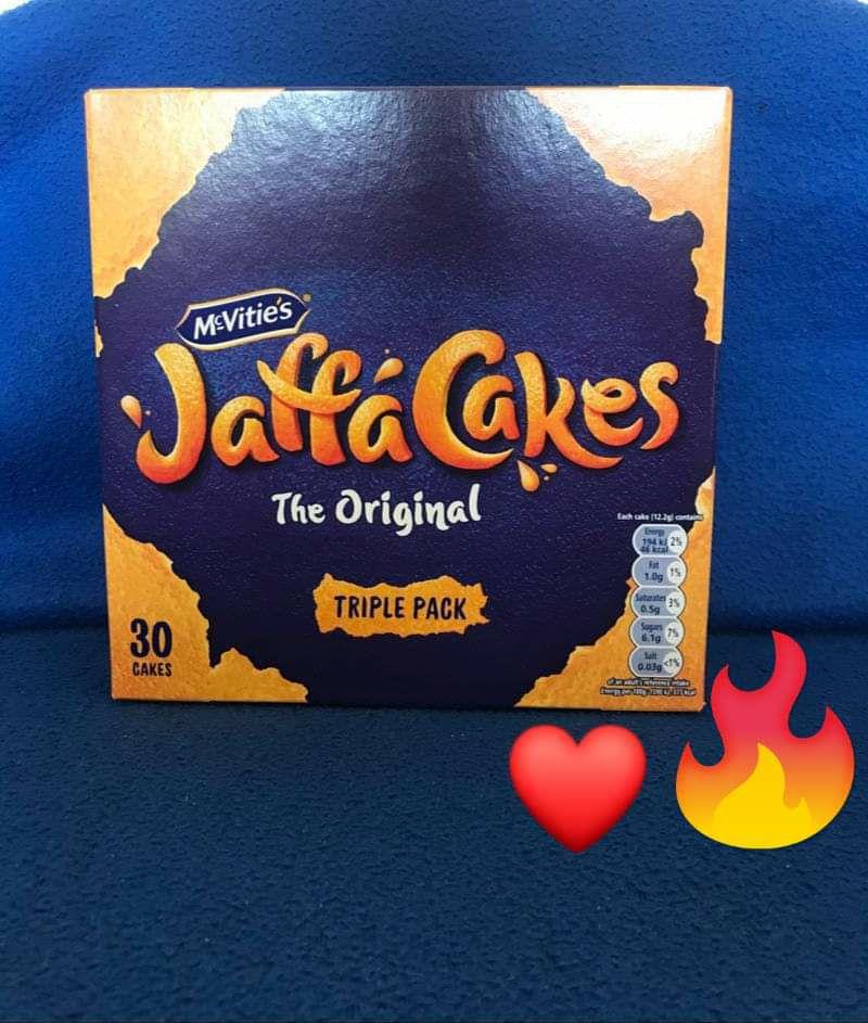 Mcvities The Original Jaffa Cakes Triple Packs 30 Cakes are £1.50 Clubcard Price @ Tesco