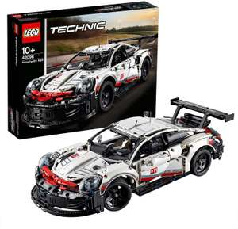 LEGO 42096 Technic Porsche 911 RSR Sports Car Set - £99.95 @ Amazon