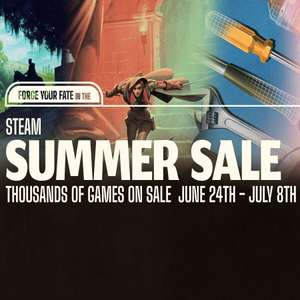 Steam sale - Star wars squadrons £12.94 Warhammer total war £9.99 Warhammer total War 2 £13.95 Civilization 6 £12.49 Hearts of iron £8.24