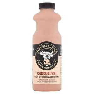 Shaken Udder Chocolush Milk Shake 750ml - £1.60 (Clubcard Price) @ Tesco