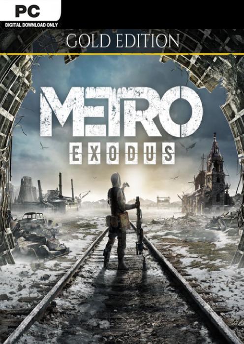 [Steam] Metro Exodus Gold Edition (PC) - £10.89 @ CDKeys
