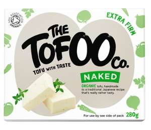 The Tofoo Co. Organic Naked 280g £1.50 @ Co-operative