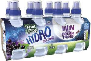 Robinsons Fruit Shoot Hydro Flavoured Water Blackcurrant, 8x200ml £2 @ Amazon (£4.49 p&p non prime) voucher and s&s £1.40