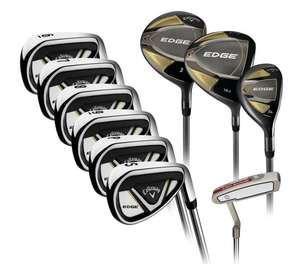 Callaway Edge 10 Piece Steel Golf Set - Right Handed £484.99 (Membership Required) at Costco