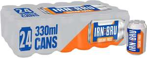 IRN-BRU Fizzy Drink Cans, 330 ml, (Pack of 24) £7 Amazon Prime (+£4.49 Non Prime)
