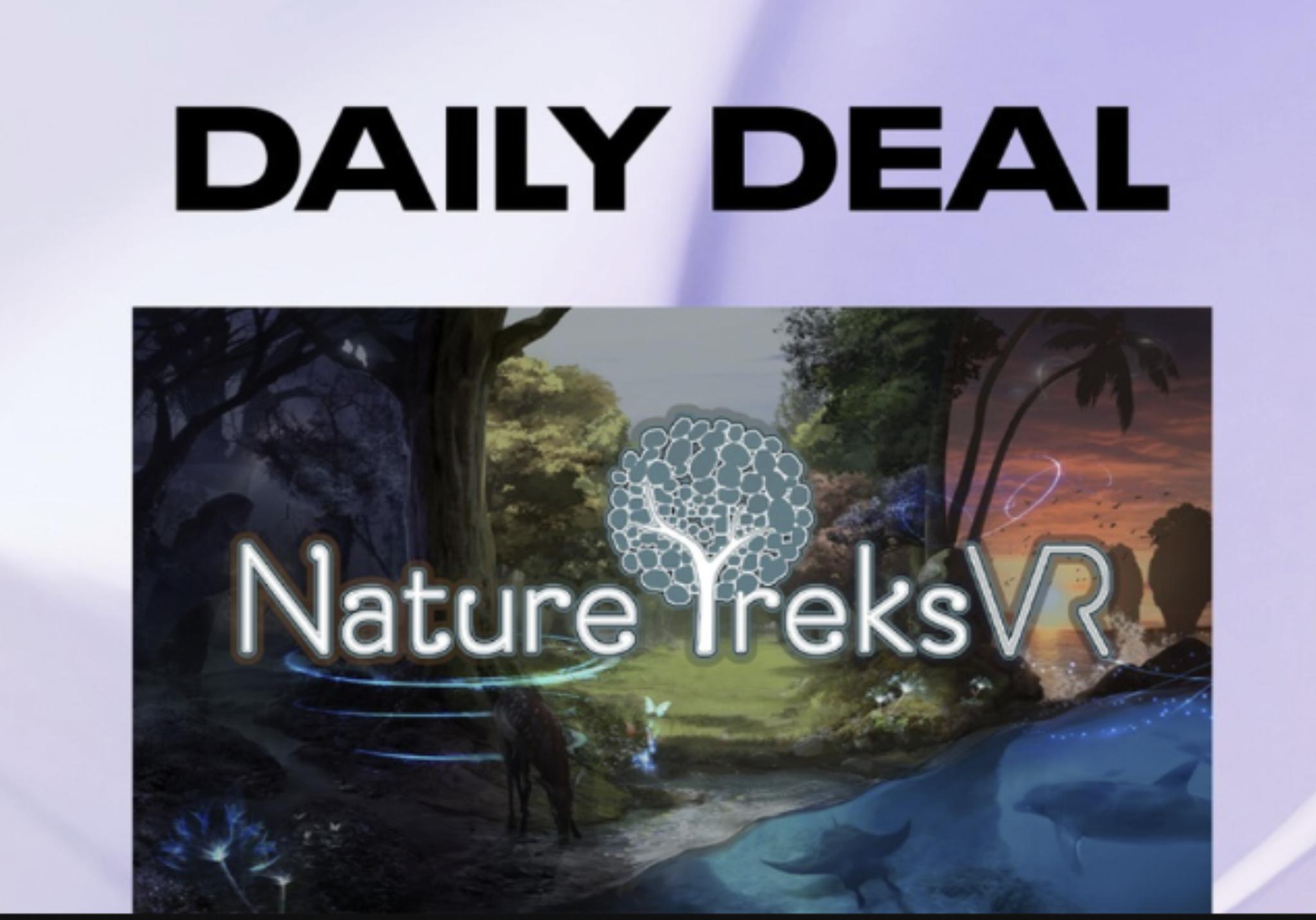 Oculus Quest VR Daily Deal - Nature Treks VR £5.99 @ Oculus