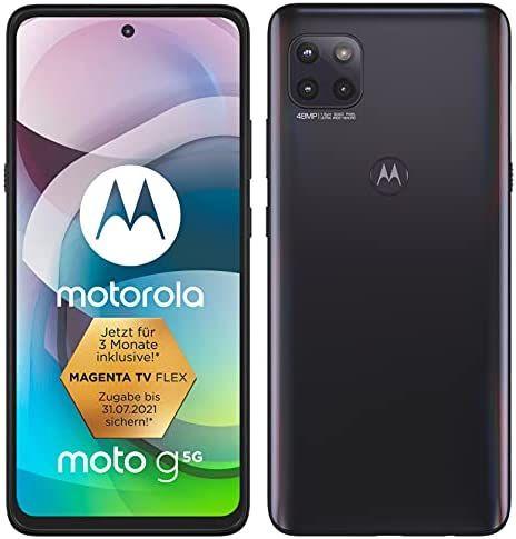 Motorola Moto G 5G 64GB 4GB Smartphone + Free Case & Car Charger (5000mAh / Snapdragon 750G) - £164.08 (UK Mainland) @ Amazon Germany
