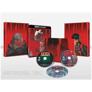 AKIRA Limited Edition (4K Ultra HD + Blu-ray) £24.59 + £1.99 delivery with code (Free Delivery Red Carpet Members) at Zavvi