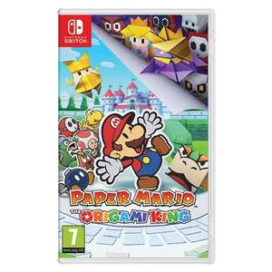 Paper Mario Origami King (Nintendo Switch) - £19.99 delivered @ Monster Shop