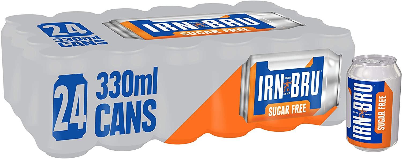 24 x 330ml cans of Irn Bru Sugar free £3 @ Poundland, Glasgow Argyle Street