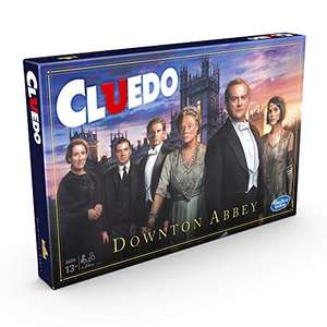 Cluedo Downton Abbey Edition Board Game for Kids Ages 13 and up £10.61 (+£4.49 non prime) @ Amazon