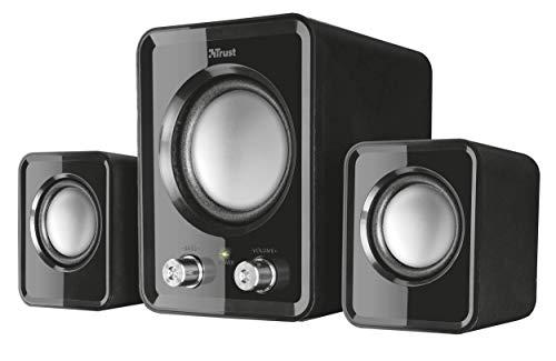 Trust 21525 Ziva Compact 2.1 PC Speakers with Subwoofer £5.81 + £4.49 Non Prime @ Amazon