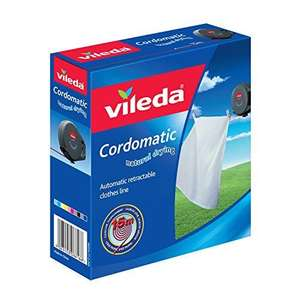Vileda Cordomatic Retractable Clothes Line, 15 m - Open Box £10.58 delivered (Only 1 in stock) @ Bargain Fox