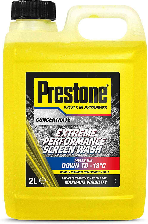 Prestone PSCW0026A Extreme Performance Screen Wash, Yellow, 2 Litre £3.50 (£4.49 p&p non prime) @ Amazon
