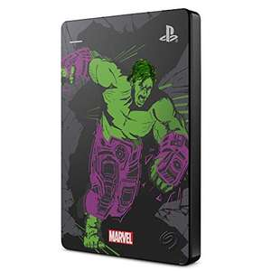 2TB Seagate Game Drive for PS4/PS5 Marvel's Avengers Hulk LE Hard Drive, £55.85 at Amazon