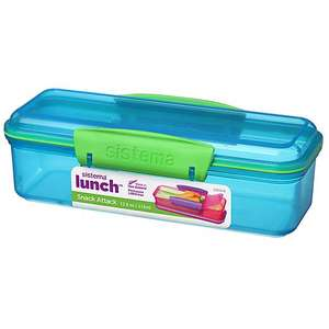 Sistema 410ml Snack Attack Lunch Box £2 at Dunelm - Free Click and Collect (limited availability)