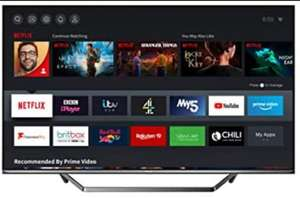 HISENSE 55U7QFTUK Quantum Series 55-inch 4K UHD HDR Smart TV with Freeview play, and Alexa Built-in (2020 series), Silver £457.50 Amazon