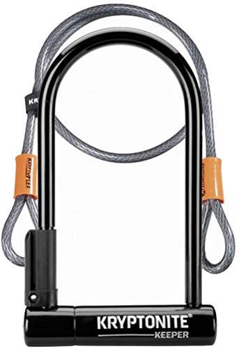 Kryptonite Keeper 12 Standard with Flex - Sold Secure Silver Bike Lock £18.30 (Prime) + £4.49 (non Prime) at Amazon