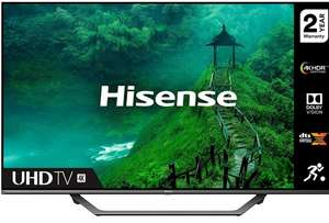 HISENSE 55AE7400FTUK Dolby Vision 55-inch 4K UHD HDR Smart TV with Freeview play, and Alexa Built-in (2020 series), Silver £374.17 Amazon