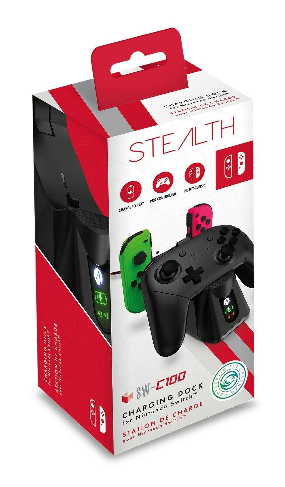Nintendo Switch stealth docking station £1 @ Asda Oadby (Leicester/ Sunderland)