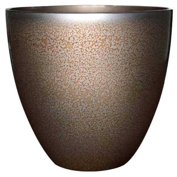 Metallic Glazed Copper Egg Pot - 33cm for £6 (free click & collect) @ Homebase