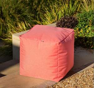 Hartman weatherproof cube pouffe in various colours (45cm³) for £59 delivered @ Garden4Less